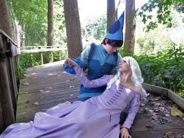 take me with you-The Last Unicorn by baszle01