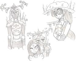 More Tbol Sketches by REDXVSROBIN