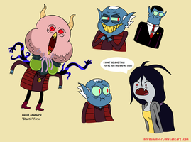 Marceline's Grampaps (Hexon Abadeer) Continued by nerdsman567