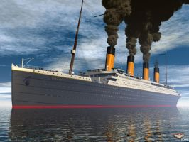RMS Titanic by Cybertosh