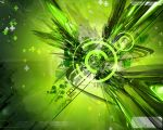 Green Vector Wallpaper by zwest