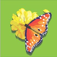 Butterfly Vector Graphic by Jennamation