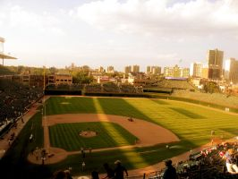 Wrigley Field by TaraMCRmy