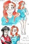 human!Roxanne_needs work xP by cracked139