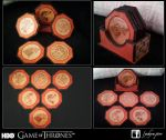 Game Of Thrones Coasters by Yuhyrn