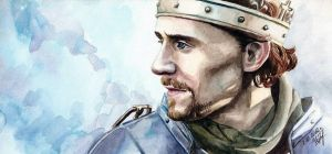 Watercolor Henry V by KseniaParetsky