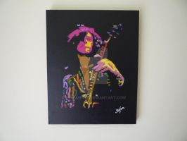 Jimmy Page Painting by stefan1501