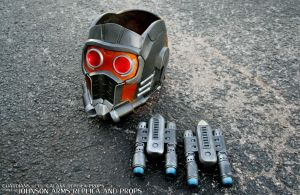 Custom Guardian's of the Galaxy Starlord Props by JohnsonArms