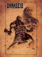 NEW GODS tribute: DARKSEID by Zuccarello
