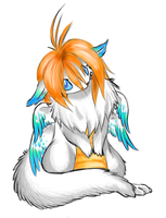 Chibi Flammie COLORED by Kientrae