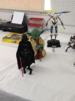 Lego Vader, Yoda and Grievous by Simpsonsfanatic33