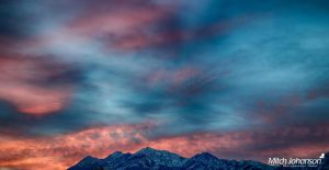 A Touch of Wasatch HDR by mjohanson