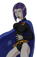 Raven by demonsaintdante
