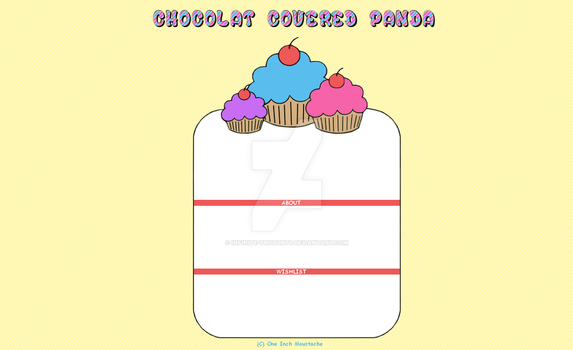 GaiaOnline (Custom) Layout - ChocolatCoveredPanda by Infinite-Thoughts