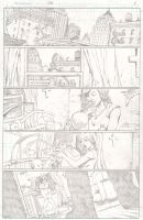 Batman practice page 1 by ClarkWGriswold