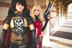 Space Pirate Captain Harlock by DollyLollipop