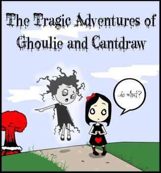 Ghoulie and Cantdraw by evileherbivore