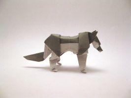 Origami Wolf by orimin