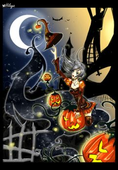 Halloween 08- riding the night by Hilaya