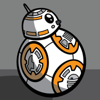 Clone Wars (2003) style BB-8 by Mick92