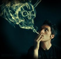 Future of a smoker by Mirraine