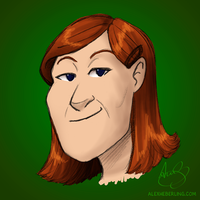 Kate Flannery by alex-heberling