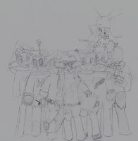 MLP - Coon and Friends Draft by DrSyke