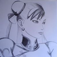 Chun Li Drawing by SamiEggPower