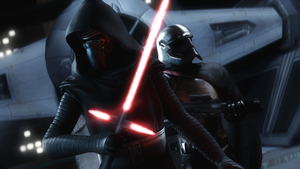 Kylo Ren and Cpt.Phasma by AngryRabbitGmoD