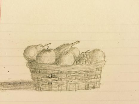 My first fruit basket by spymaster7