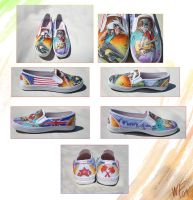 Reece.Corinth Custom Shoes by WhiteTreeFox