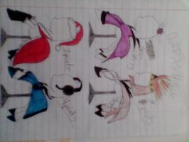Poneh Outfits fer sale by DibFan4LifeX3