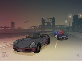 GTA 3 Yakuza Chase by redfill