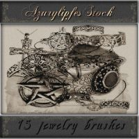 jewelry brushes by AzurylipfesStock
