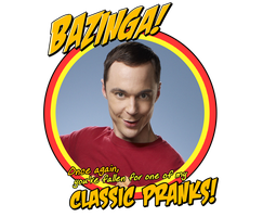 Bazinga Tee Art by Alrow