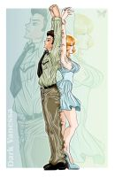 Elvis and Marilyn -Commish- by DarkVanessaLusT