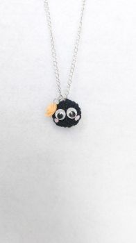 Soot Sprite Necklace by milliemouse579