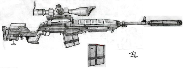 M-14 Rifle by DivergentFOUNDRY