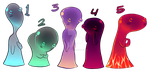 Free Blob Adopts {CLOSED} by FrigginAdoptables