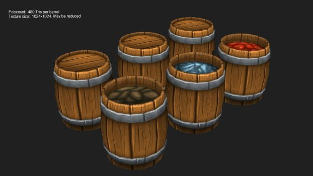 Barrels by Overmind5000