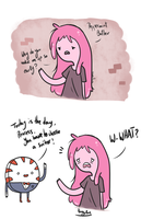 The Suitor - Bubbline Comic #1 by Thegirlins