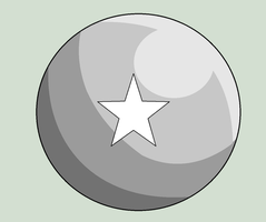 One Star Ball Base by JAVA-MOCHA