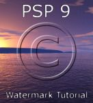 PSP 9 Watermark Tutorial by zememz