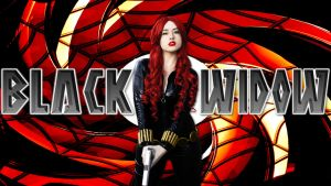 Black Widow cosplay wp starring Noelia Martin by SWFan1977