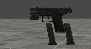 Re6 Piicador (Helena's handgun) by zeushk