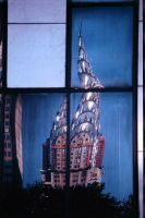 Chrysler Building-Dirty Window by yori1976