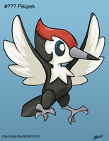 Pokemon Sun and Moon - Pikipek