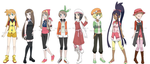 Pokegirls alt outfits 3 by Hapuriainen