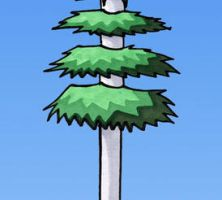 Grievous Tree Cell Phone Tower by andalasur