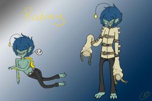 New OC: Rodney by AskTheSiren